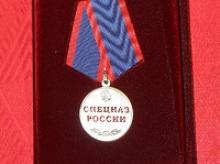 Одиннадцати лучшим представителям подразделений специального назначения 25 февраля 2016 года вручены награды