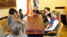Молодые омичи-историки в Российском Союзе ветеранов