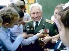 Николаю Ивановичу Польшинскому, заместителю председателя Совета ветеранов Железнодорожного района Ростова-на-Дону, исполнилось 95 лет