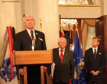 Почтили память американских ветеранов в Москве