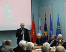 Торжественный прием фронтовиков в Доме Российского Союза ветеранов