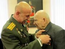 Вологодский ветеран награждён памятной медалью «70-лет освобождения Белоруссии от немецко-фашистских захватчиков»