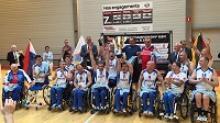 Сборная России по баскетболу на колясках победила на Чемпионате Европы