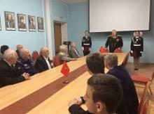 Торжественный прием кадетов в Российском Комитете ветеранов