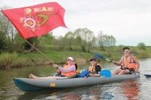 Сплав на байдарках по реке Угра