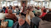 Водное путешествие ветеранов города Калининграда по реке Преголя