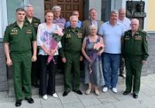 Встреча с ветеранами спорта ЦСКА