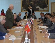 В Российском Комитете ветеранов РСВ проведена встреча с делегацией ветеранов войны Таиланда